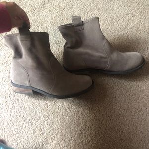Brown Sole Society Booties